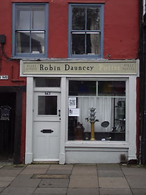 Robin Dauncey's shop in Norwich