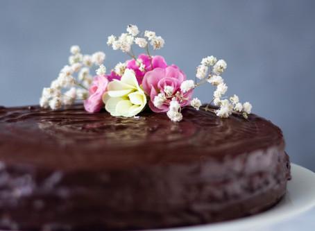 #Čokoladna torta s džemom od višnje
