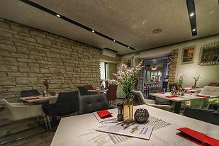 Dida Boža restaurant interior for breakfast and dinner