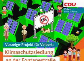 Klimaschutzsiedlung an der Fontanestraße: Politik schafft Fakten