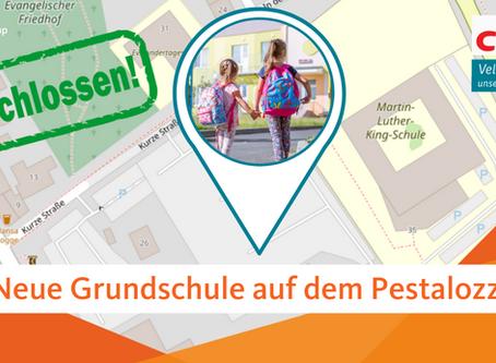 Neue Grundschule auf dem Pestalozziplatz