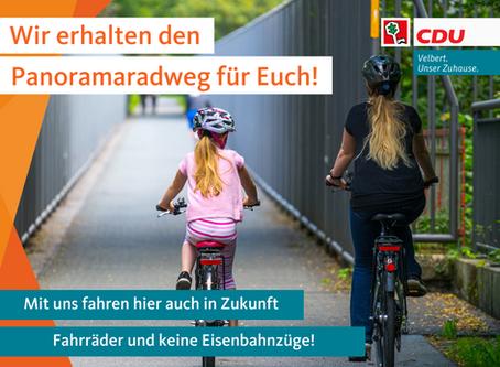 CDU: Wir erhalten den Panoramaradweg!