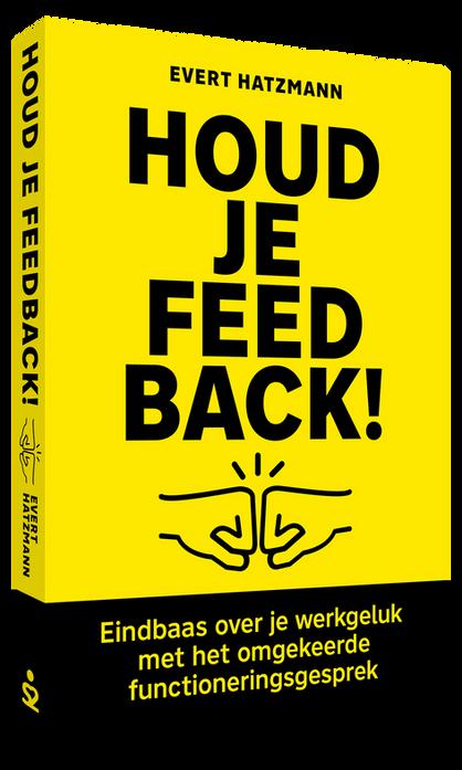 Boek-release: Houd je Feedback!