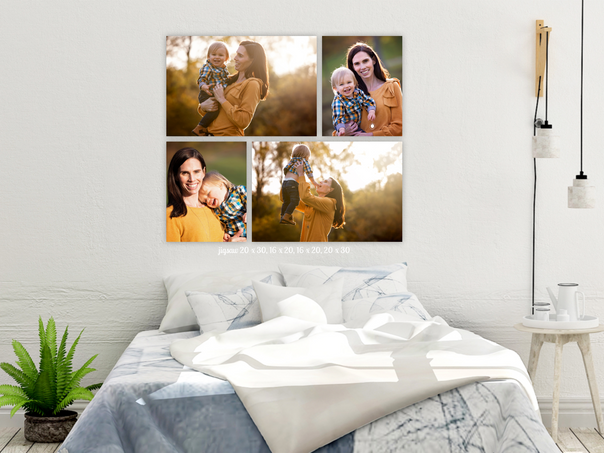 How to Build a Beautiful Photo Gallery Wall: Ideas for creating a photo wall in your home.