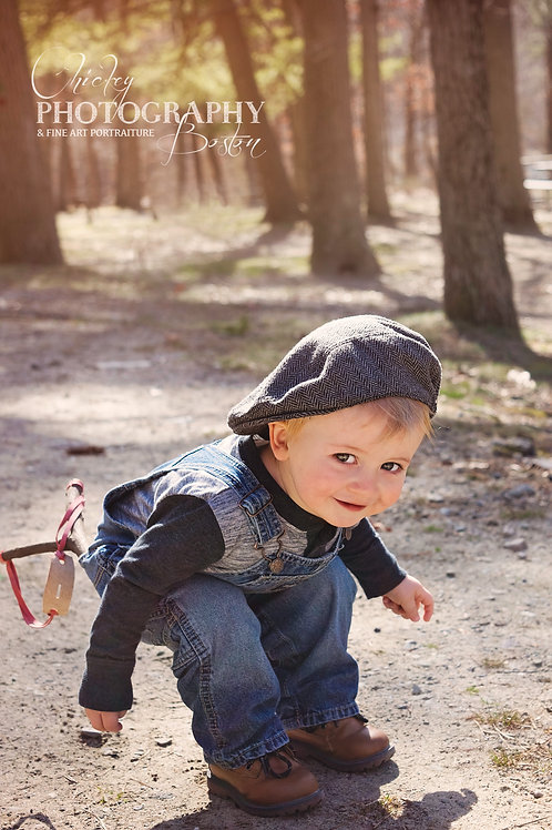 30 minute Outdoor Baby/Toddler Portrait Session (BALANCE)
