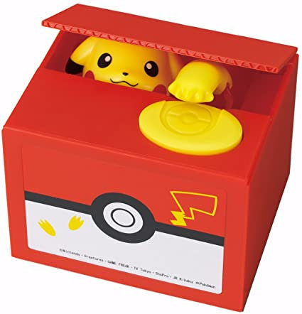 Pokemon Pikachu Electronic Coin Bank