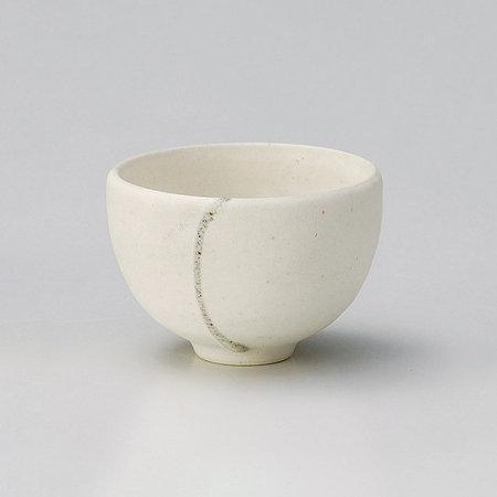Shigaraki Ware Hechimon Snow Make Up Tea Cup