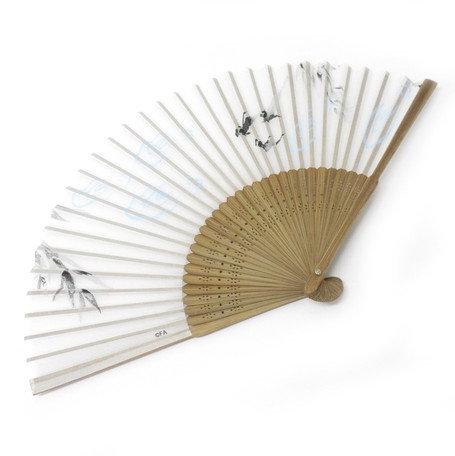 Folding Fan White