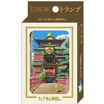 Studio Ghibli 'Spirited Away' Playing Cards