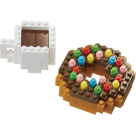 Nanoblock Donut & Coffee
