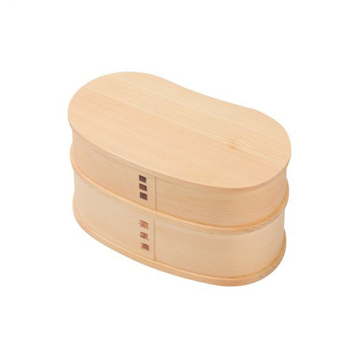 Bento Box Magewappa Two Stages