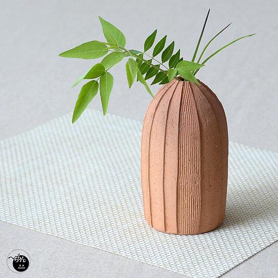 Shigaraki Ware Flower Vase Sand