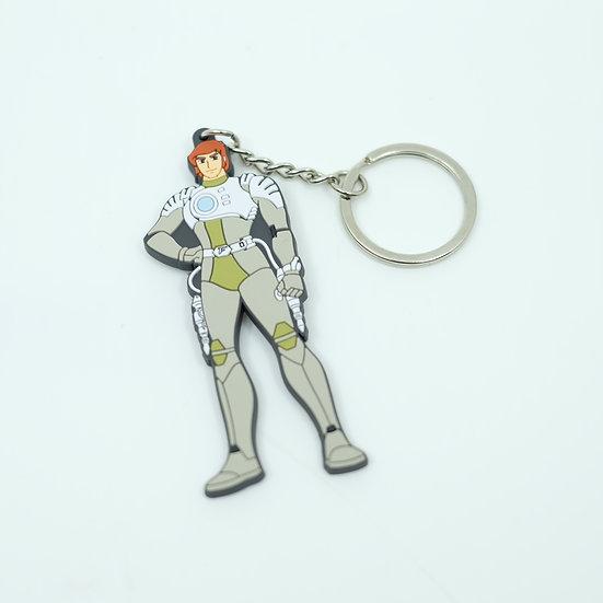 Capitaine Flam / Keychain Porte-clés