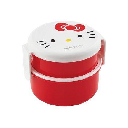 Round Lunch Box Hello Kitty