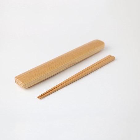 Chopstick Set Natural Wood