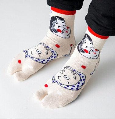 Tabi Socks HYOTOKO ・OKAME