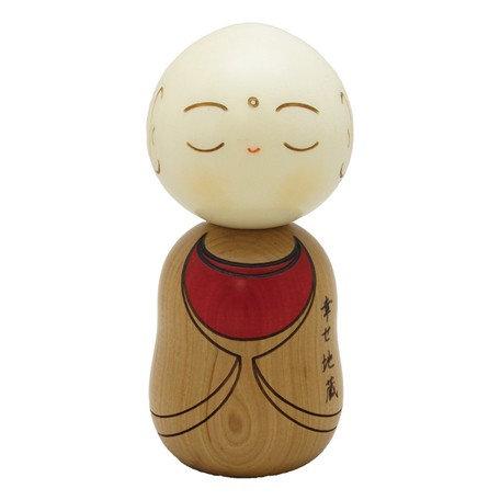 Saburo Kokeshi Doll Jizo