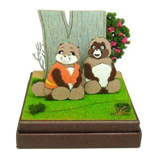 Miniatuart Kit Studio Ghibli 'Pom Poko'