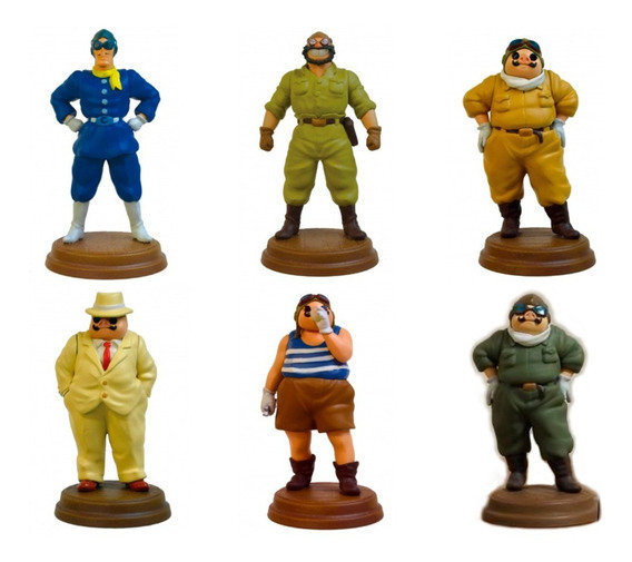 Studio Ghibli figures 'Porco Rosso'