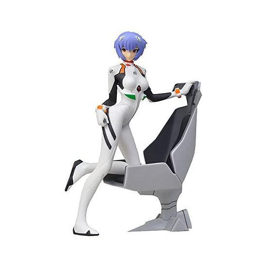 Neon Genesis Evangelion Rei with Chair figurine