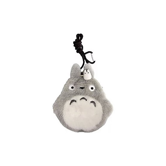 Studio Ghibli 'My Neighbour Totoro' Totoro' fluffy pouch metal clasp