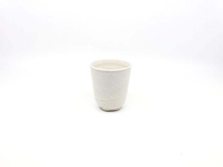 Ceramic Tea Cup White