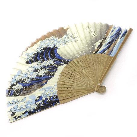 Hokusai 'The Great Wave' Fan
