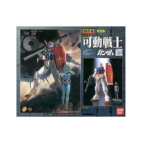 Gundam RX-78 GD-16 metal Bandai 1/144 Chogokin