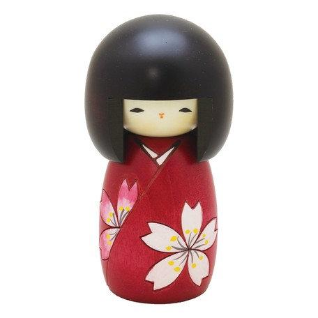 Saburo Kokeshi Doll Flower