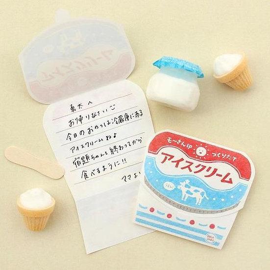 Retro Mini letter Ice Cream