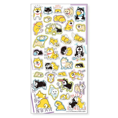 Mind Wave Shibanban Half Half Sticker