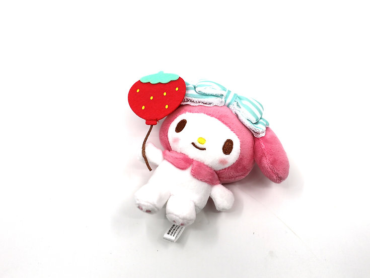 My Melody Strawberry Mini Plush