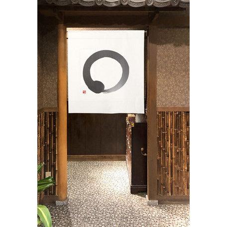 Japanese Noren - Circle