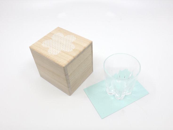 Sakura Saku Japanese Design Glass