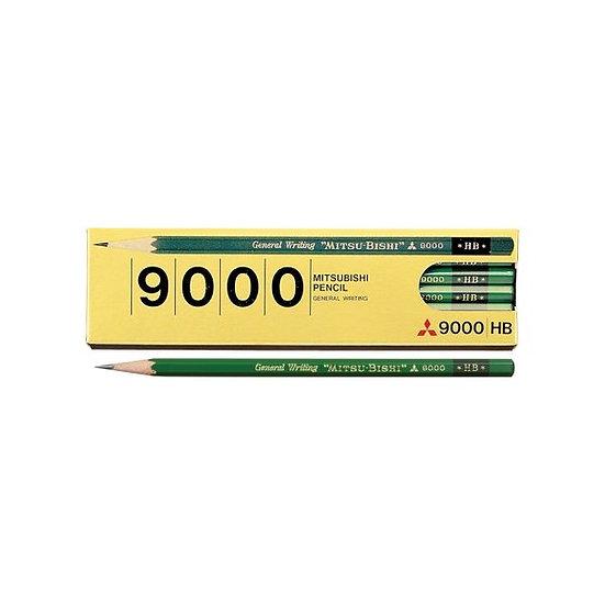 Mitshubishi HB Pencils 9000