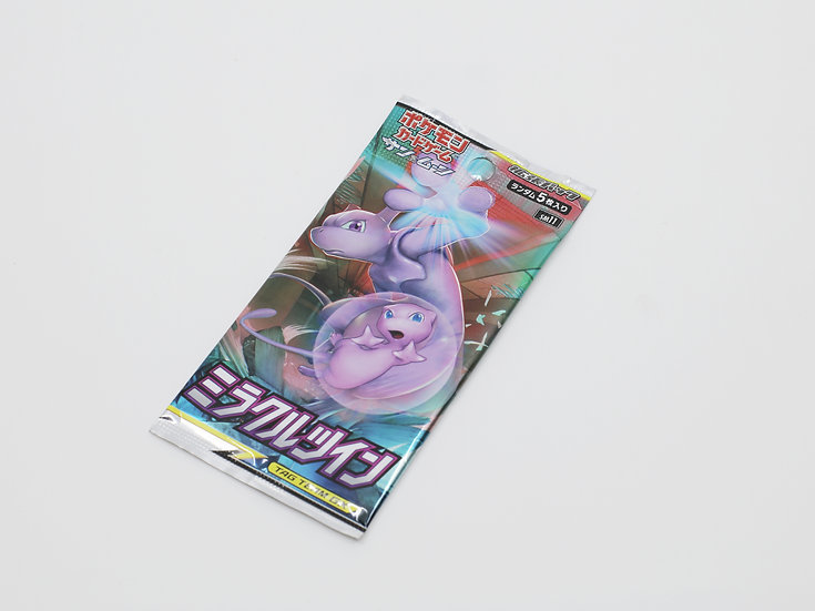 Pokemon Miracle Twins Japanese Booster