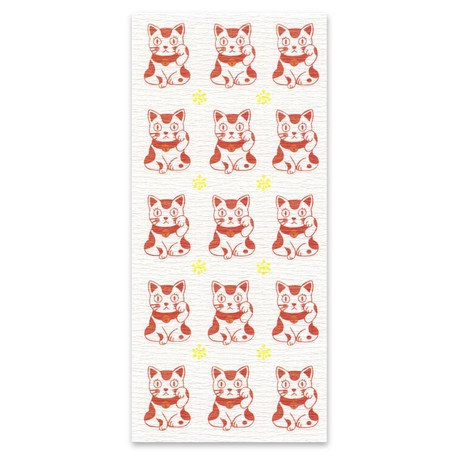 Japanese Style Washi Stickers Lucky Cat