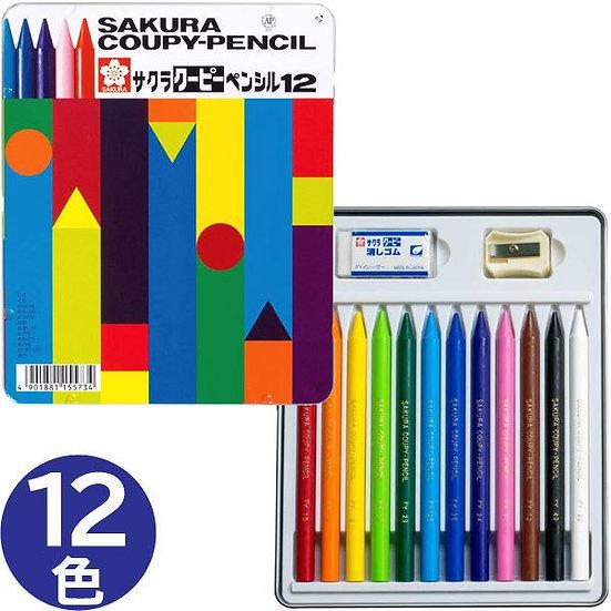 Sakura Coupy Pencils 12
