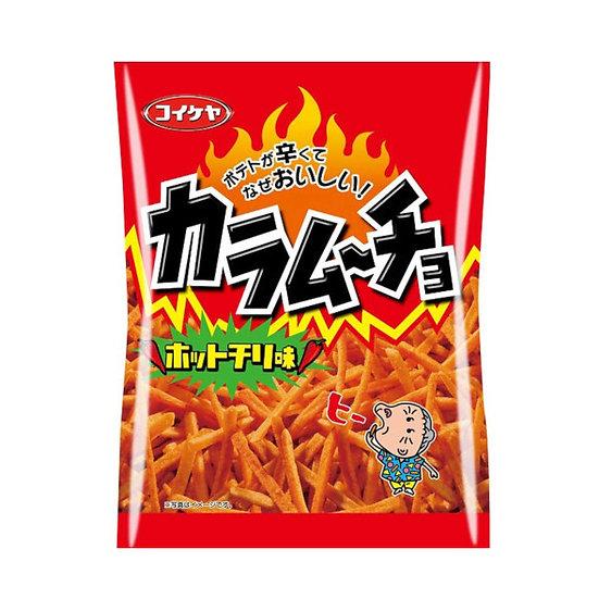 Koikeya Karamucho Stick Hot Chili Chips