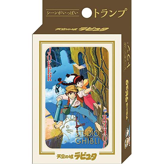 Studio Ghibli 'Laputa: Castle in the Sky' Playing Cards