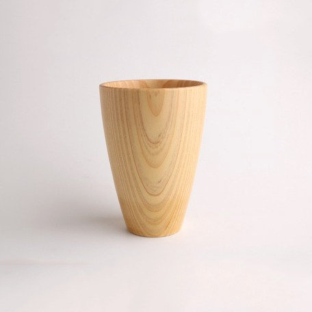 Wooden Cup Natural Wood