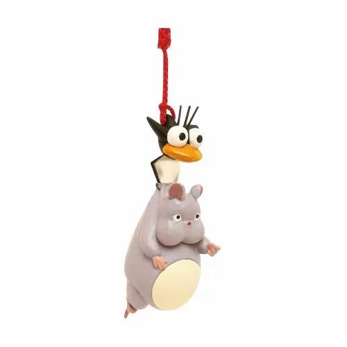 Studio Ghibli 'Spirited Away' Netsuke (good luck charm) Boh Mouse