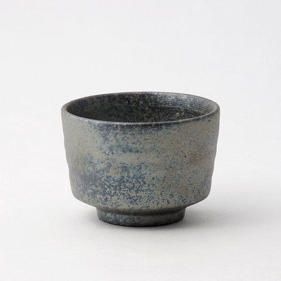 Shigaraki Ware Hechimon Smoked Rice Bowl