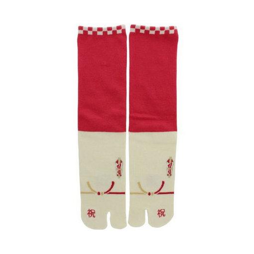 Tabi Socks R/W (40-44)