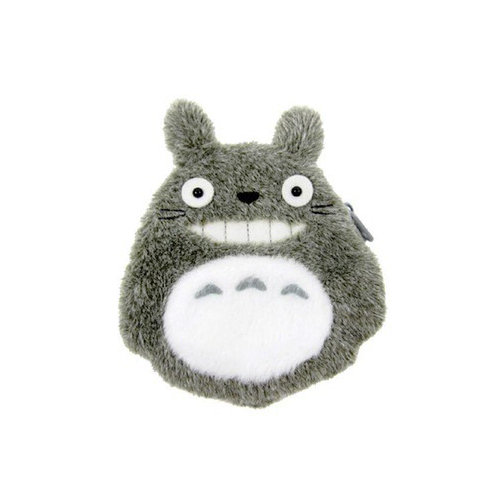 Studio Ghibli 'My Neighbour Totoro' Fluffy Coin Purse Totoro Laugh