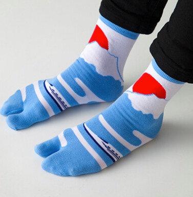 Tabi socks Mt Fuji