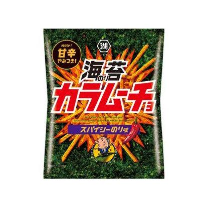 Koikeya Karamucho Stick Potato Chips - Spicy Nori
