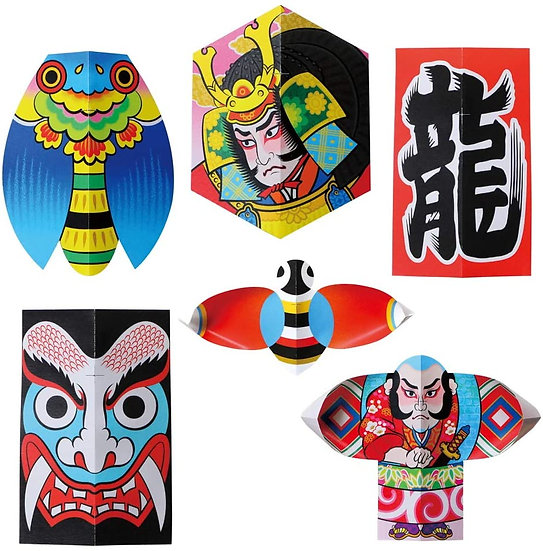 Toyo Japanese Handmade Kite, DIY Origami Kit