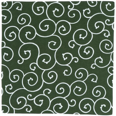 Furoshiki Arabesque Green