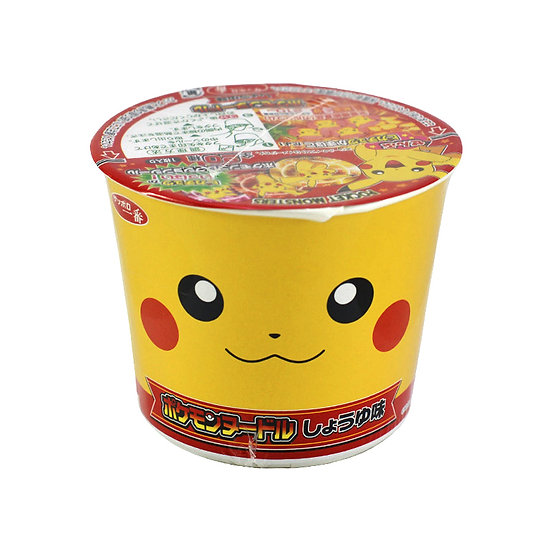 Pokemon Noodle (with Sticker) Soy Sauce Flavor